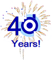 Davicon Forty Years Celebration Icon