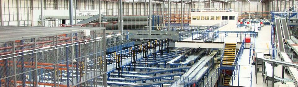 Automated Warehouse Mezzanine Floor