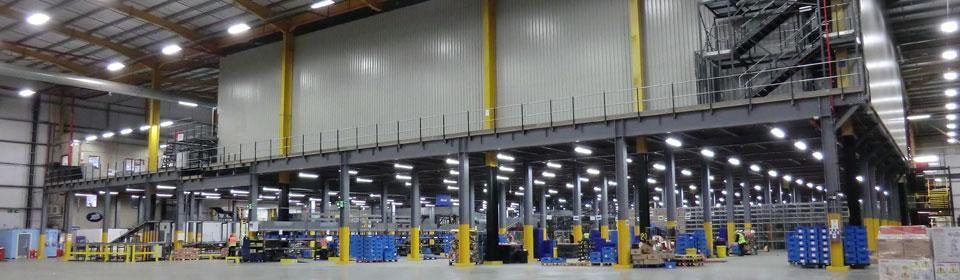 Automated OSR Mezzanine Floor