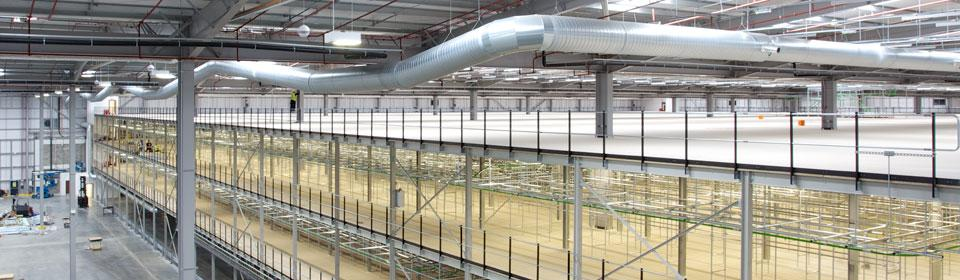 Garment Hanging Automated Mezzanine Floor